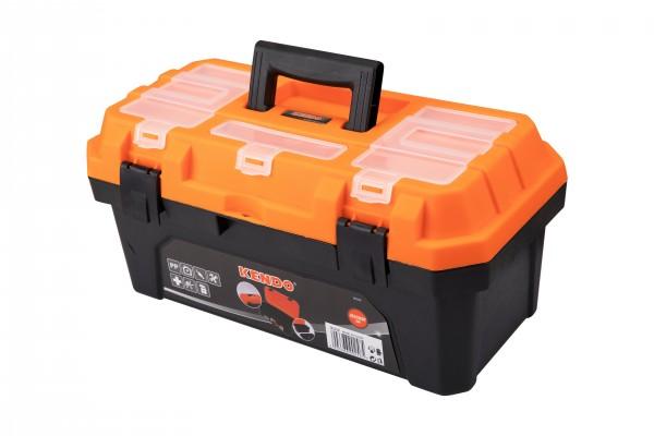 Werkzeugkoffer leer - Für Kleinteile und Werkzeug - 42 x 23 x 20 cm