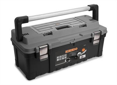Werkzeugkoffer leer - Für Kleinteile und Werkzeug - 65.5 x 28.5 x 27 cm
